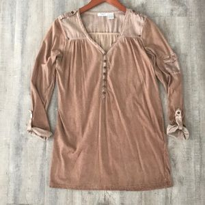French Long Cotton Top